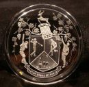 Paperweight Showing Crest