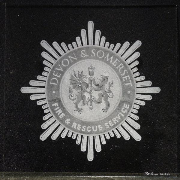 Devon & Somerset Fire & Rescue Services Crest