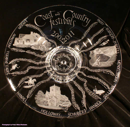 Coast & Country Music Festival plate