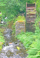 THE OLD MILL WHEEL, LLANYCHAER