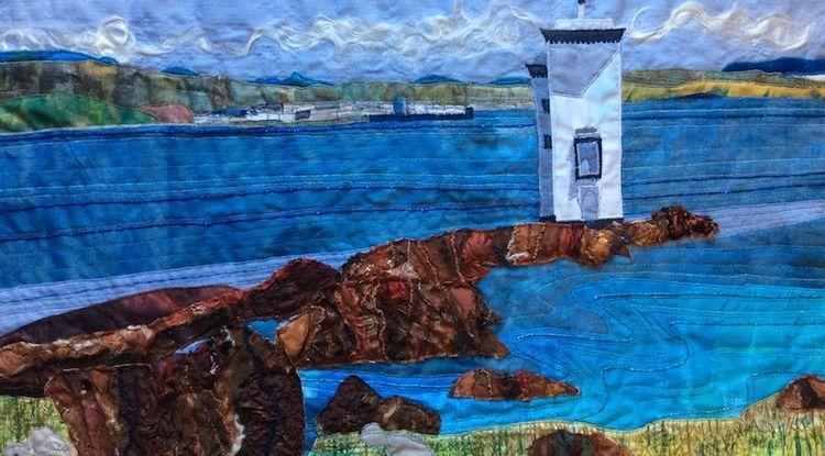 Carraig Fhada Lighthouse, Islay