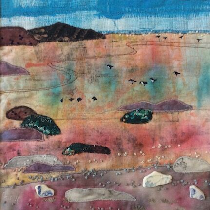 Birds on the shore