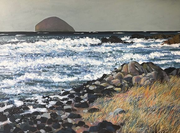 Towards Ailsa Craig