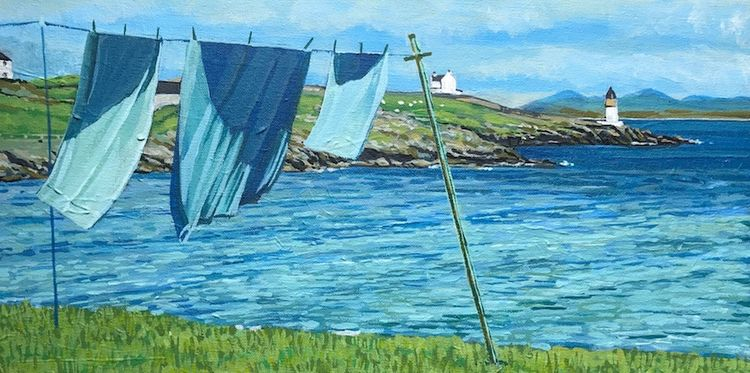 Hung out to dry, Port Charlotte