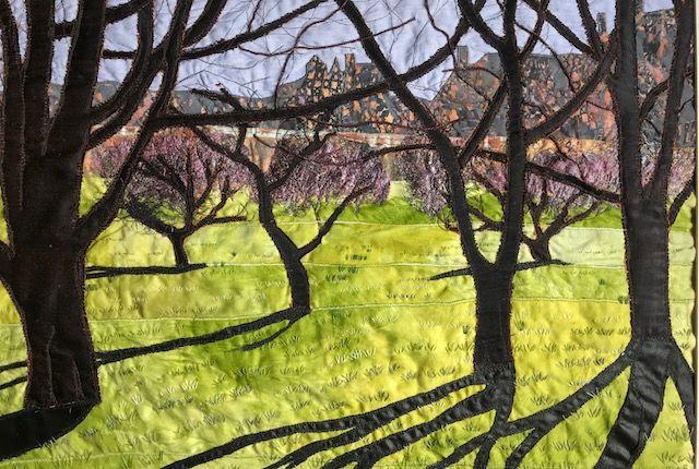 Orchard shadows