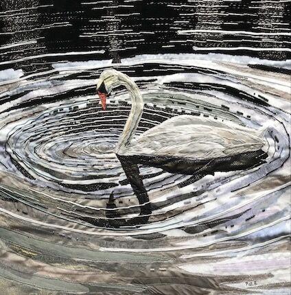 Swan swirls