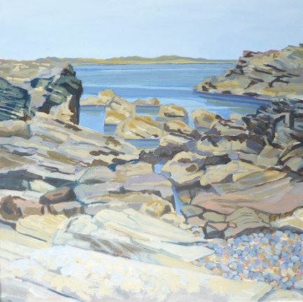 Incoming tide, Kintra, Islay