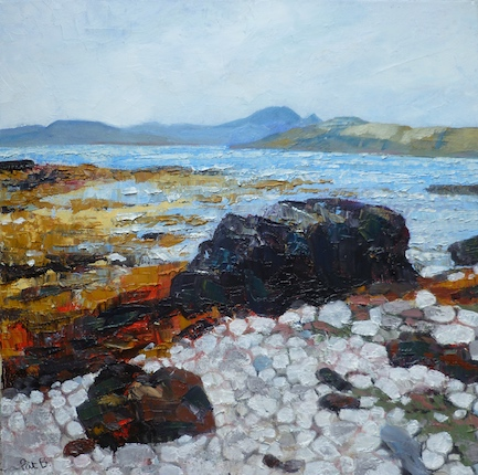 Black rock, Skye
