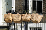 Green waste bags