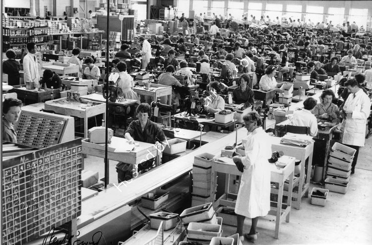 102 Shoemaking at Clarkes Factory