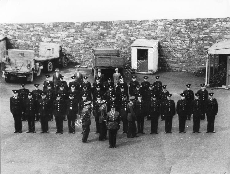 105 Gardai and Detectives Dundalk Garda Station