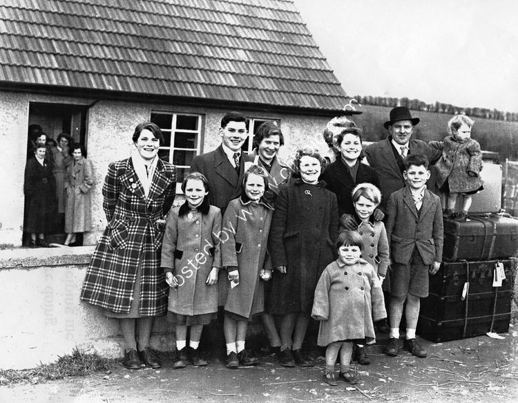 109 Dundalk Family packed and ready to emigrate