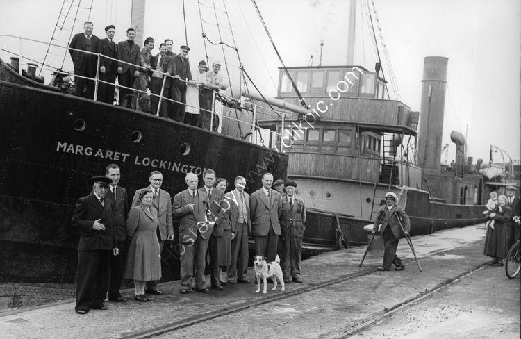 113 Last sailing of the Margaret Lockington in 1957