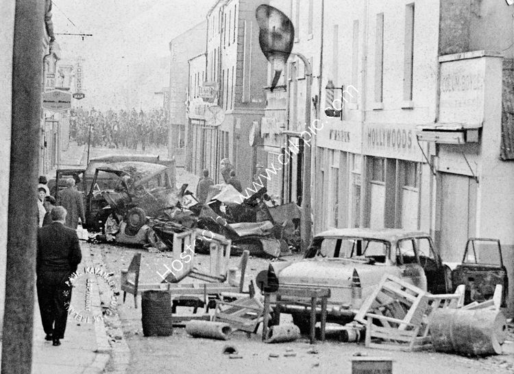 118 Rioting in Newry 1970's