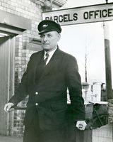 11 CIE worker at Clarke Station Dundalk.