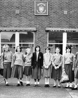 134 First girls to attend CBS