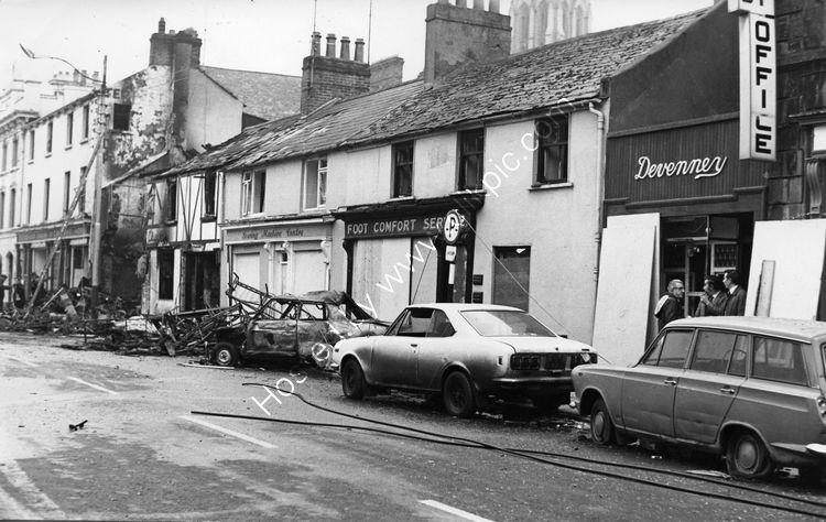 138 Car bomb at Kays Tavern Crowe St. in Dec 1975 kills two local men
