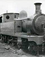 13 Train at Strabane Station