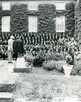 16 Dundalk Grammar School. Paul Kavanagh with asst. Principal Patrick Hogan