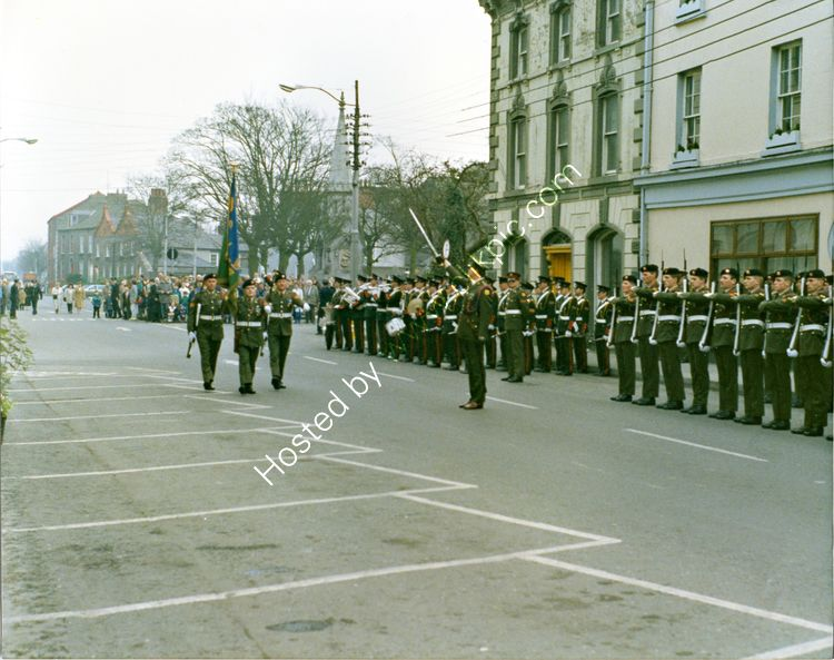 01 Military Parade for President Hillary, Crowe Street, Dundalk
