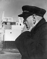 52 Jim Higgins Harbour Master at Dundalk Port 1960's