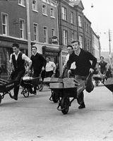 70 Wheelbarrow race - Dundalk Maytime Festival