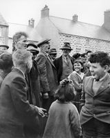 74 Local man yelling at rally in Carrickmacross for General McKeown pic 2 of 3