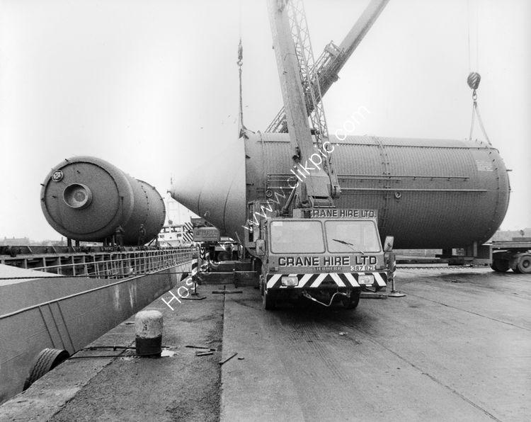 79 Silos for Harp Lager delivered to Dundalk Port