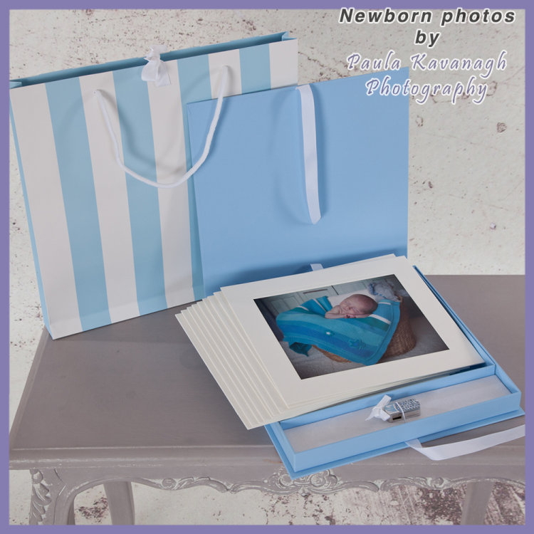 New Born Photo Album for a Boy