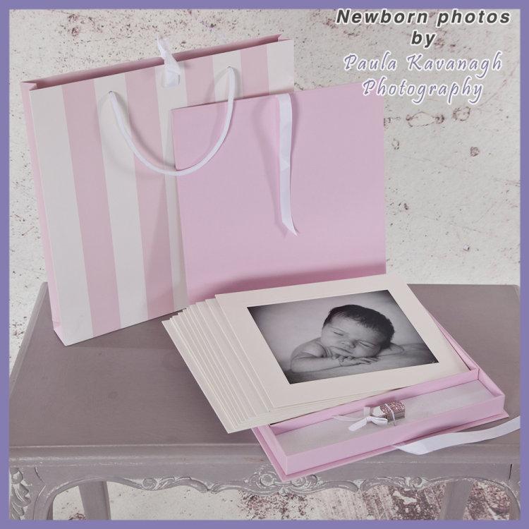 Newborn Photo Album for Girls