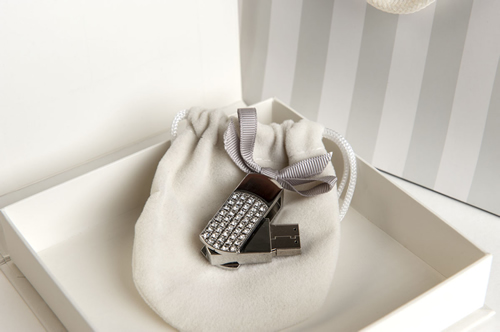 Fabulous Jeweled USB - Included in our Newborn Memories Package
