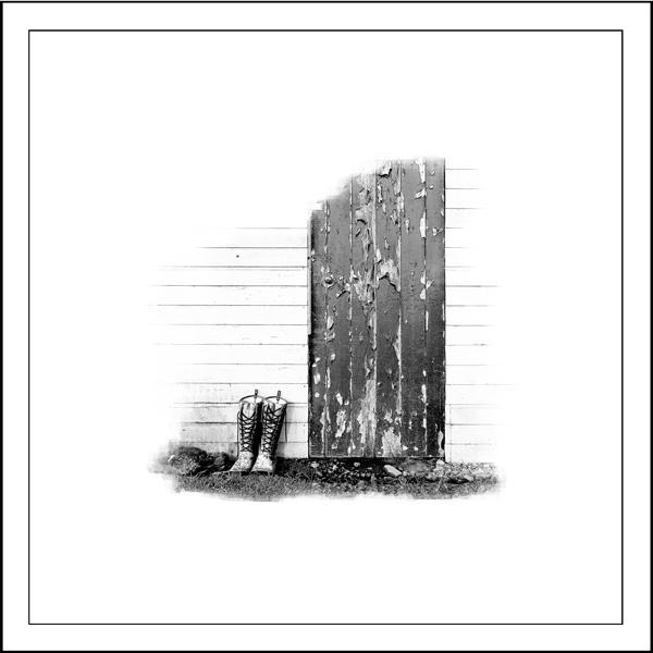 shed door Artifact - Giclée Print on Museum Etching Fine Art Paper