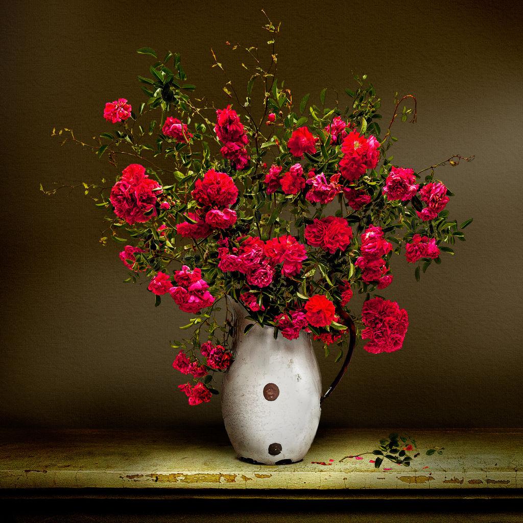 Wild Rose Vase