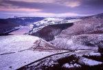 Winter dawn, Ladybower