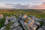 Wolfscote Hill Sunset