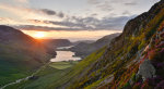 Buttermere at sunset