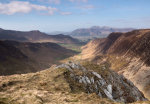 Newlands valley and Skiddaw