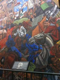 Cable Street Mural Restored 2011
