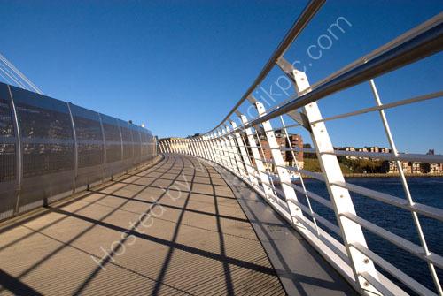 Shadows on the Footbridge
