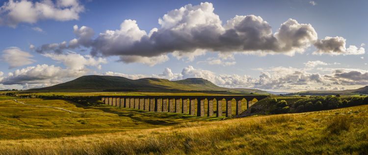 RIBBLEHEAD VIADUCT PANORAMA, YORKSHIRE DALES NATIONAL PARK, 2018
