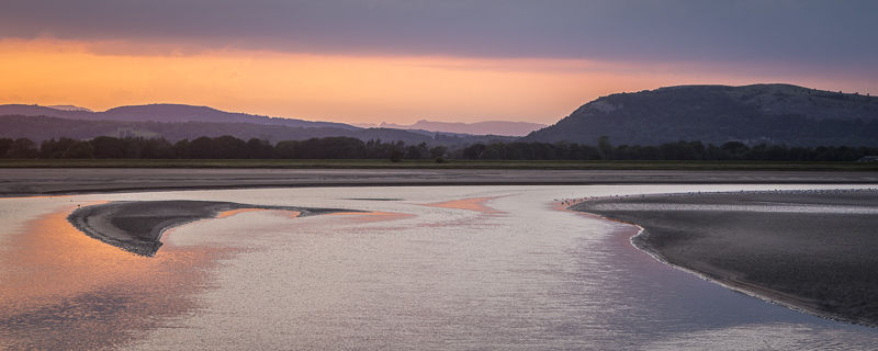 Kent Estuary Panorama, Cumbria, 2016