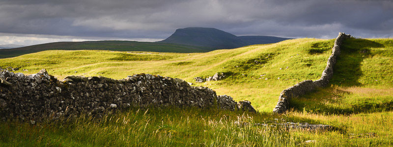Penyghent Panoramic, Ribblesdale, 2016