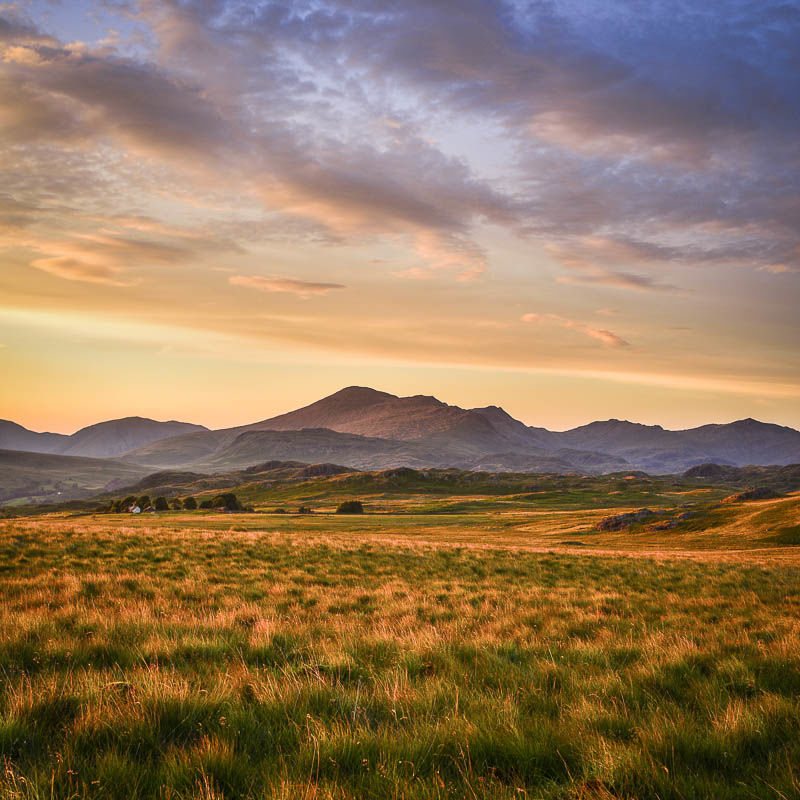 L22 Scafells Sunset, Cumbria
