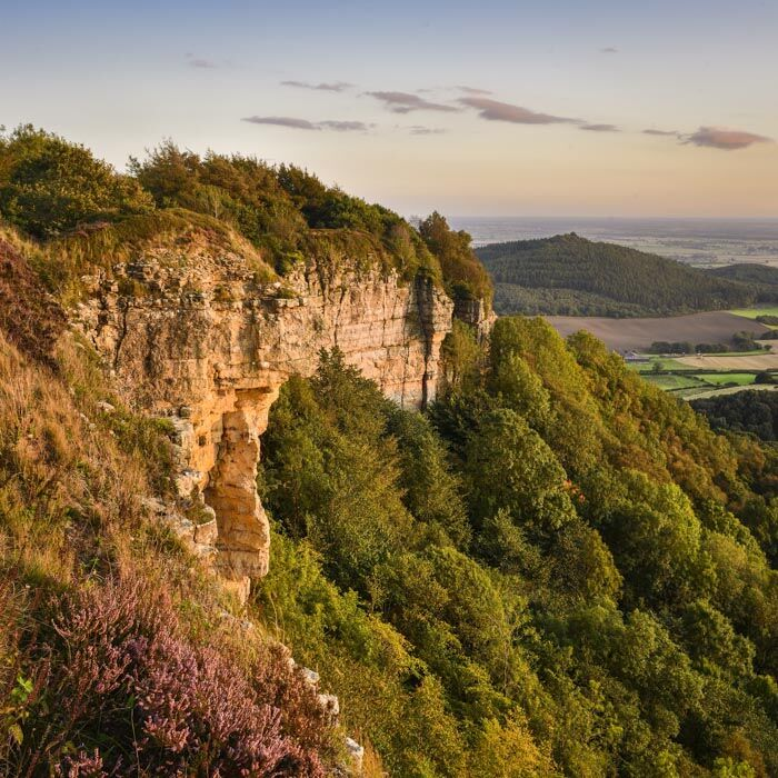 Whitestone Cliff, Sutton Bank, North York Moors, 2019