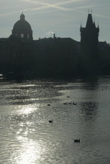 Prague Silhouette