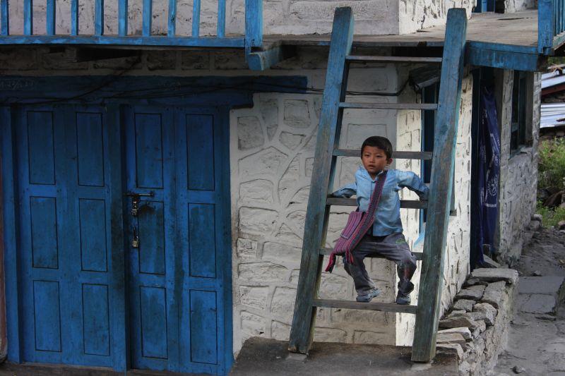 Boy in Langtang