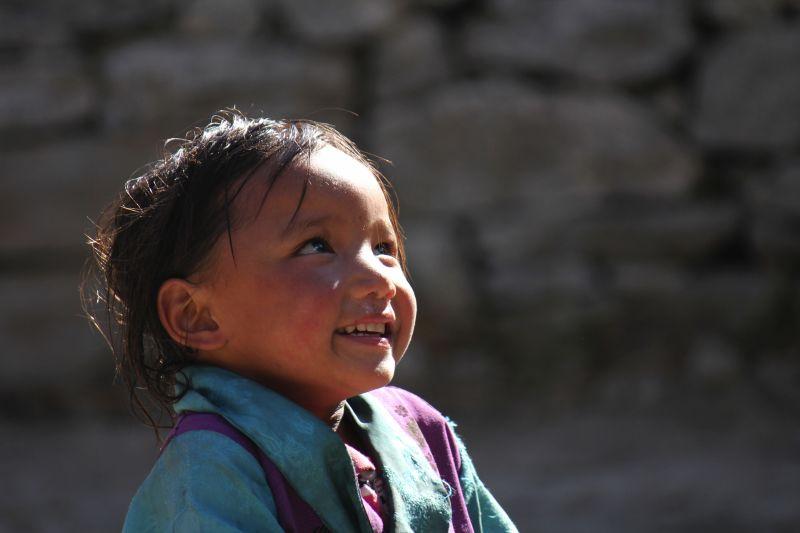 Girl in Langtang