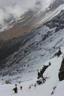 Steep ascent of Zatrwa La