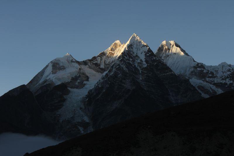View of Ama Dablam