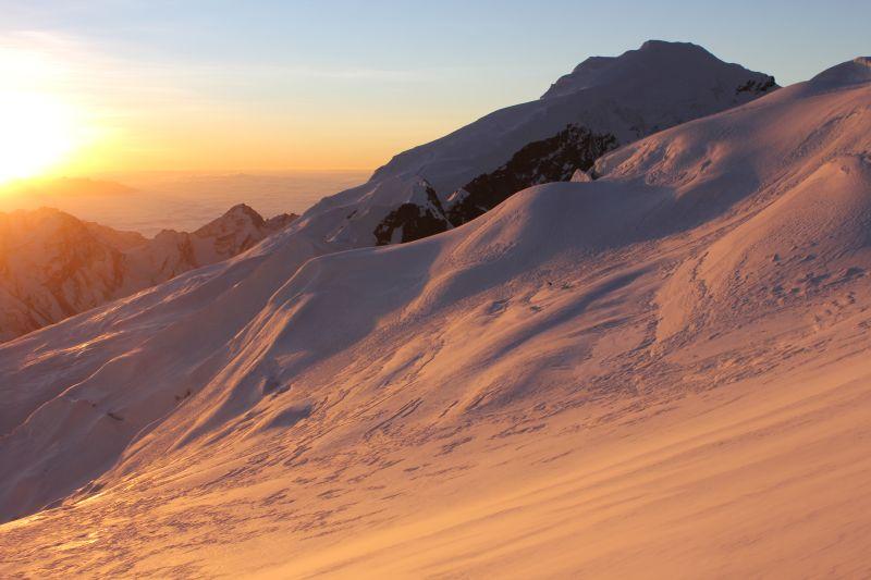 Sunrise on Mera Peak